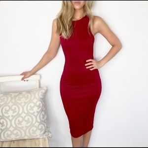 Dresses & Skirts - Sexy red fitted dress